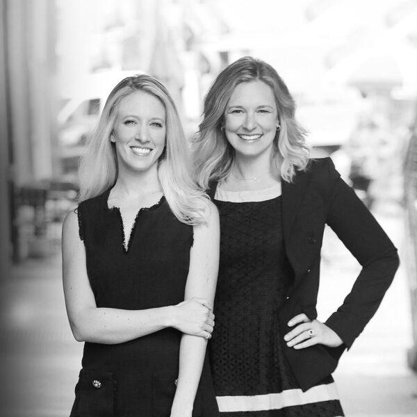 Gail Tiburzi Buck and Rebecca Oppenheim