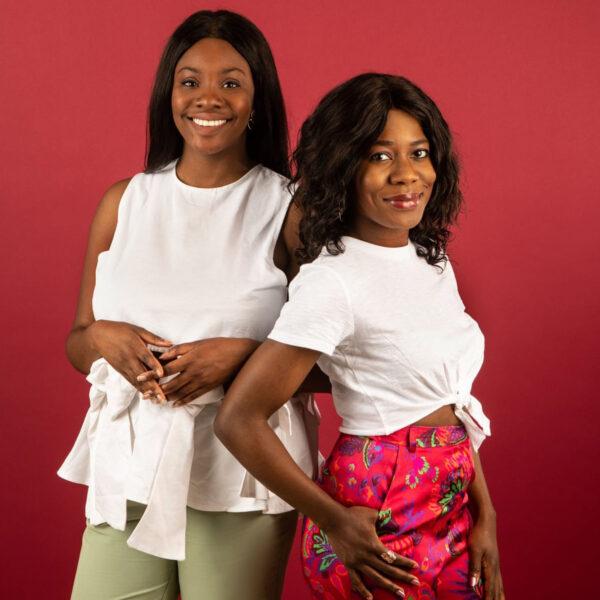 Yomi Adegoke and Elizabeth Uviebinené