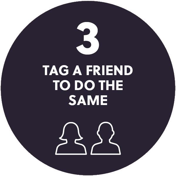 Tag a friend to do the same
